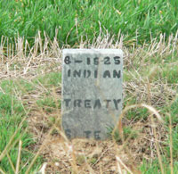 Image: Photo of Little Kaw Marker